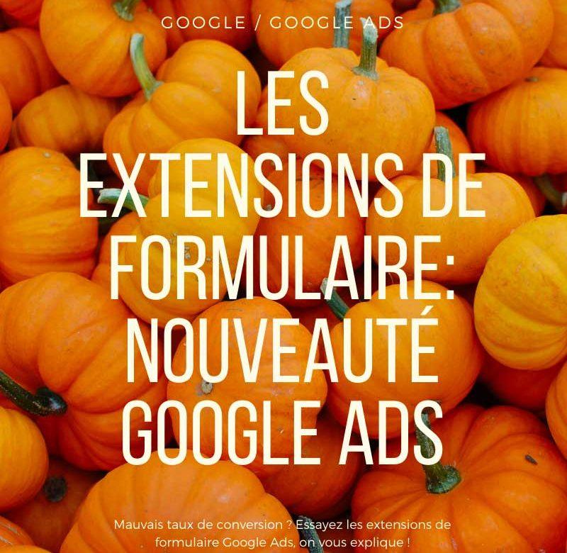 Extension Formulaire Google
