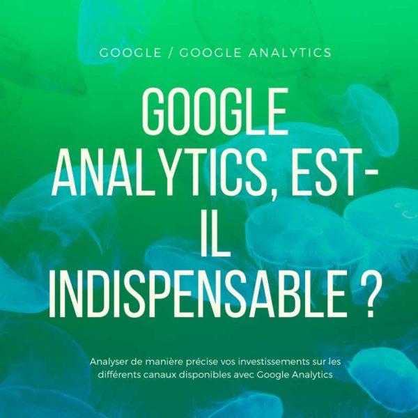 Google Analytics est-il indispensable