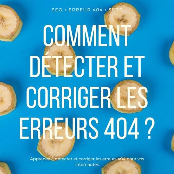 erreurs 404