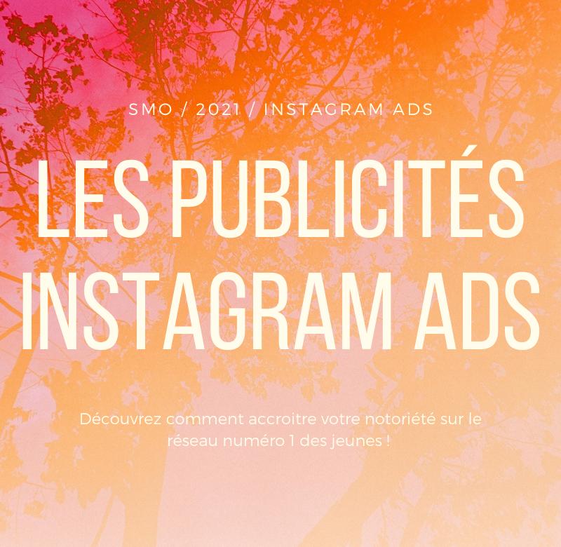 Publicité Instagram Ads